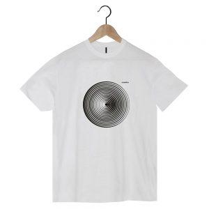 camiseta ecológica de algodón orgánico Diana blanca