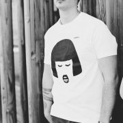 Camiseta ecológica de algodón diseño Amber strambótica