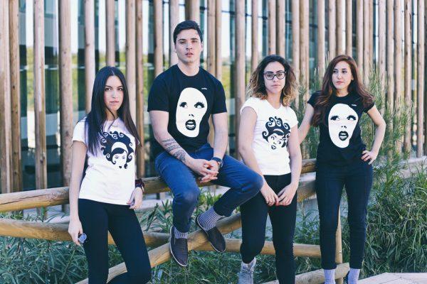 camisetas divertidas ecológicas diseño strambótica