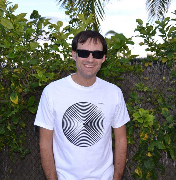 camiseta hombre ecológica Diana