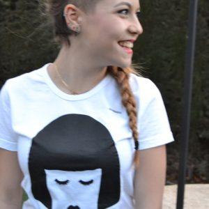 camiseta regalo de diseño algodón orgánico