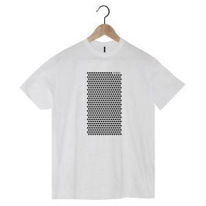 camiseta ecológica diseño strambótico de lunares