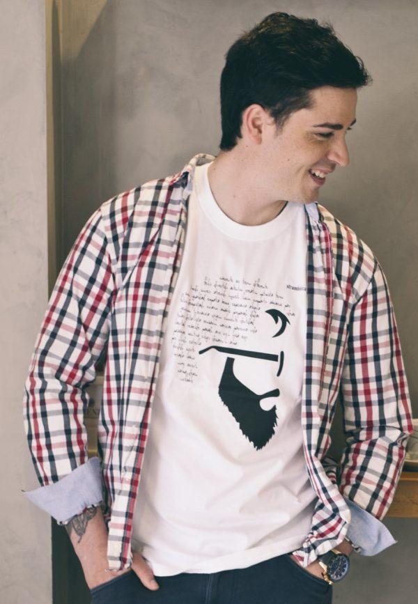camiseta ecológica hypster