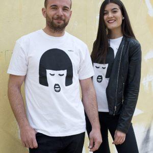 camiseta ecológica hombre Amber