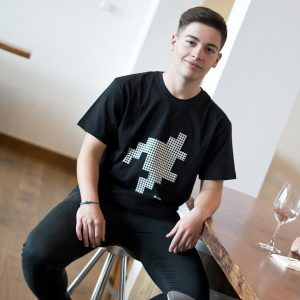 camiseta ecológica hombre Pata Gallo