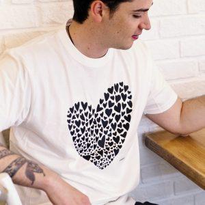 camiseta ecológica valentina