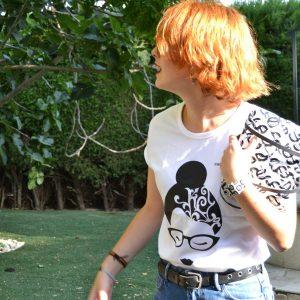 camiseta ecológica loto