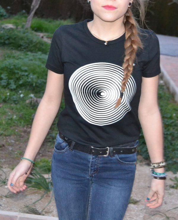 camiseta ecológica mujer