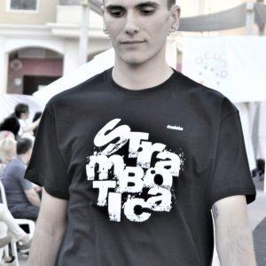 camiseta ecológica hombre strambótica