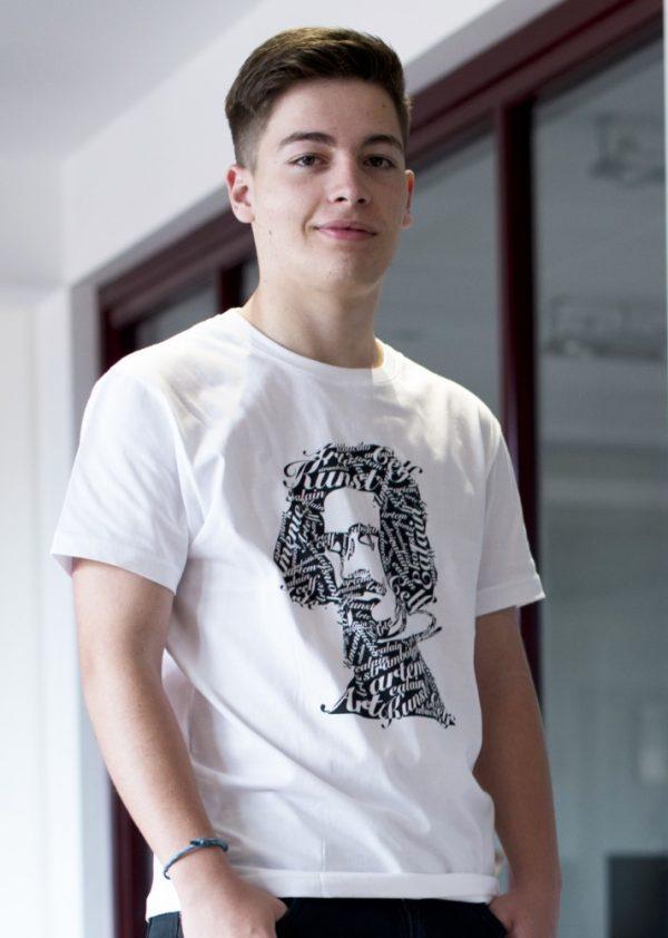 camiseta hombre ecológica art