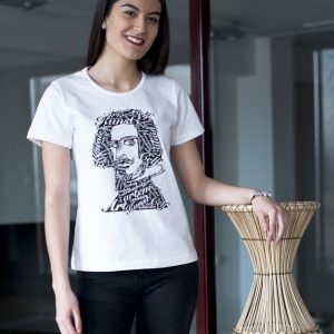 camiseta mujer ecológica art
