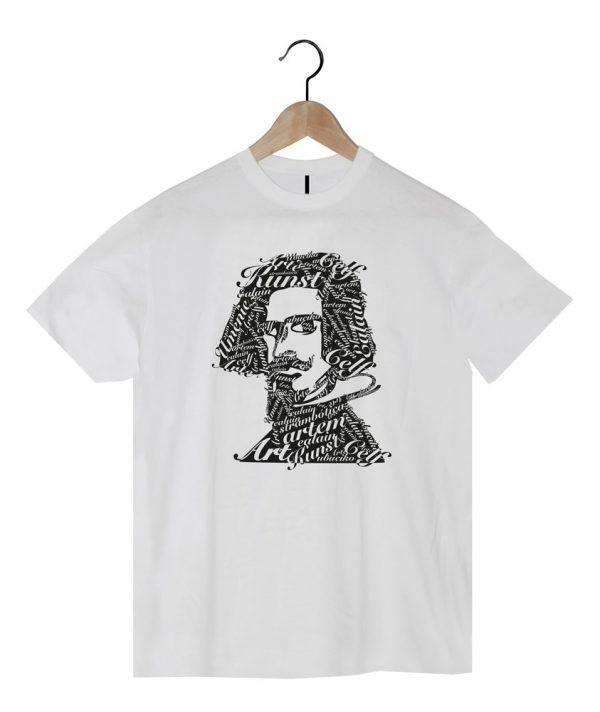 camiseta hombre art