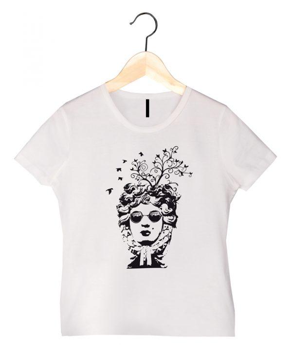 camiseta ecológica mujer bird