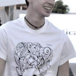 camiseta ecológica hombre serendipia