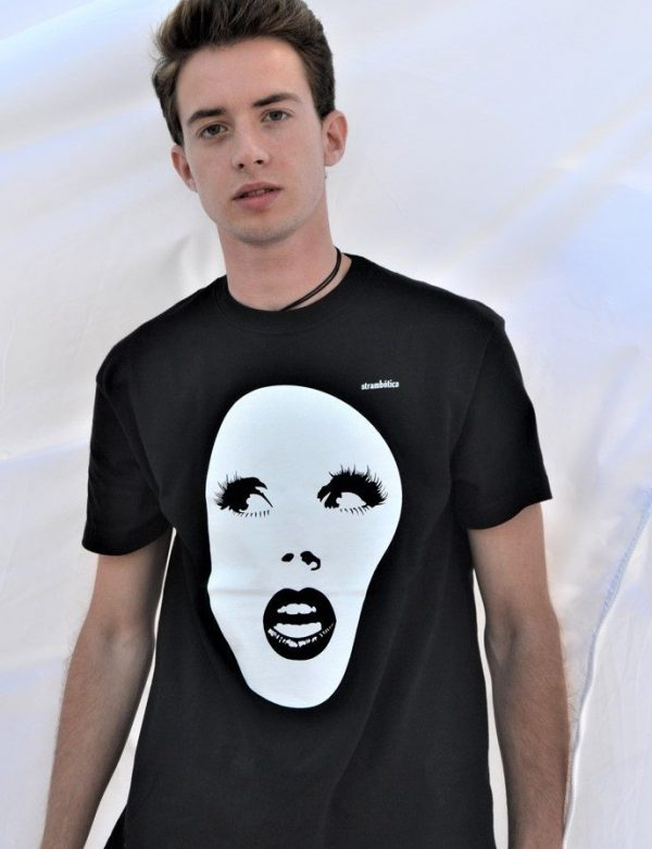 camiseta ecológica hombre olvido
